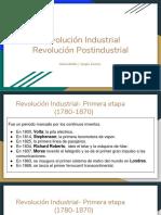 Revolución Industrial _ Revolución Postindustrial