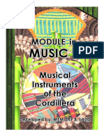 Passed 33-4 Abra Musical Instruments of the Cordillera