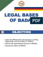 MODULE 3 - Session1. BADAC Legal Basis