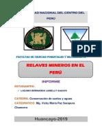 Caratula e Indice Relaves Mineros