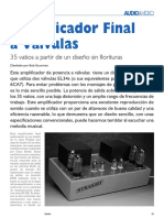 Amplificador Final Valvular EL34