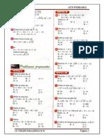 Algebra - 6to - Operaciones Combianadas en z