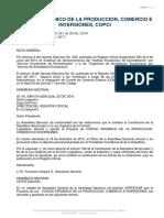 Código Orgánico de La Producción Comercio e Inversiones