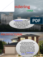 Innovative Architectural Visualization China  and trusted 3d Architectural Renders