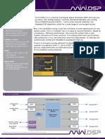 Product Brief-MiniDSP 2x4 Box