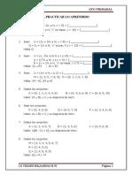 Artitmetica - 6to - Operaciones Con Conjuntos
