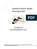 Dance Studio Flooring Guide 2010