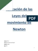 Experiencia Leyes de Newton