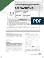 [5] Naskah Soal Usbn_bahasa Dan Sastra Inggris - Paket 4