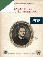 Juan Benito Díaz de Gamarra y Dávalos - Elementos de Filosofía Moderna (Fragmentos)