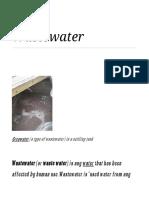 Wastewater - Akash Sah