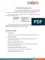 Hms(Hotel Management System)