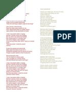 Coldplay Seventeen Lyrics