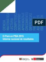 Informe pisa Perú 2017