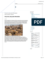 Palm Oil Milling Process