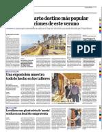 Roquetas, cuarto destino más popular para las vacaciones de este verano