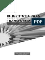 Re_instituyendo la investigación como transformadora