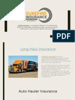 Surefire Insurance Agency Corp is a General Agency