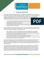 Sample Strategic Work Plan