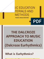 Music Education Materials and Methods
