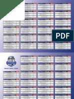 Calendrier Saison de Ligue Magnus 2019-2020