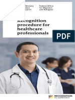 Recognition Procedures