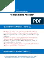 05 Qualitative Risk Analysis