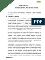 Informe Rotura a La Flexion