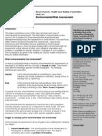 Environmental Risk Assessment Tcm18-122341