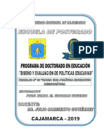 POLÍTICA EDUCATIVA DEMOCRÁTICA