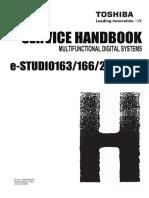 E-STUDIO166 206 Service Handbook