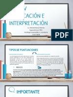 Wisc IV Calificacion e Interpretacion