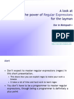 The Power of Regular Expression Explained