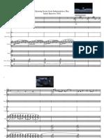 Isabel Burrows 3002 Composition 1 Score - Full Score