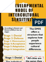 The Developmental Model of Intercultural Sensitivity (DMIS)