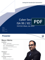 ISA D14 TTT CyberSecurity