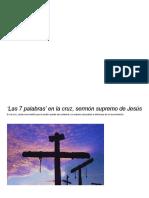'Las 7 palabras' en la cruz, sermón supremo de Jesús.pdf