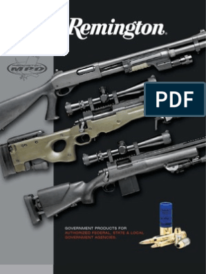 Remington: Government Products For Authorized Federal, State