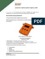 Manual de Instalación Rápida Jupiter Hughes 1200