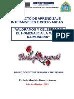Proyecto Dia de La Madre 2019- Dionicio