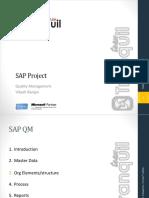 SAP QM Introduction Deck