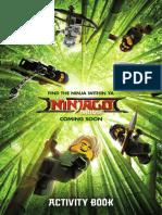 Ninjago Activity Book