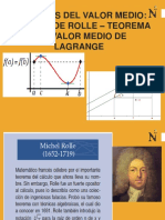SEMANA 8 Teoremas de Rolle y Lagrange