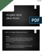 Survey 1 Angles