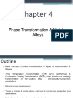 Lecture Chapter 4 Phase Transformation and Metal Alloys