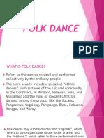 FOLK DANCE Ppt Grade 7 3rd Grading