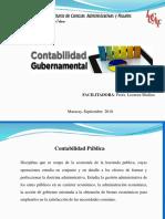 Contabilidad Gubernamental 1