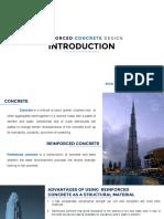 1 CE133P Introduction to Reinforced Concrete Design