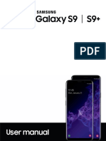 Samsung S9+ User Manual
