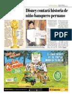 Disney Contará La Historia de Niño Banquero Peruano